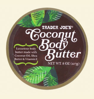 trader joe 39 s coconut body butter the lab bunny. Black Bedroom Furniture Sets. Home Design Ideas