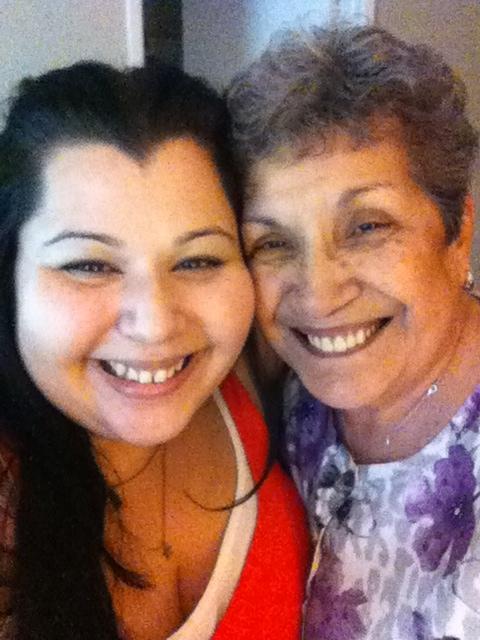 sarah and nana thanksgiving 2012