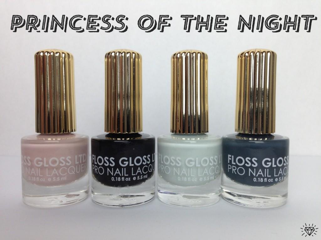 floss gloss princess of the night set
