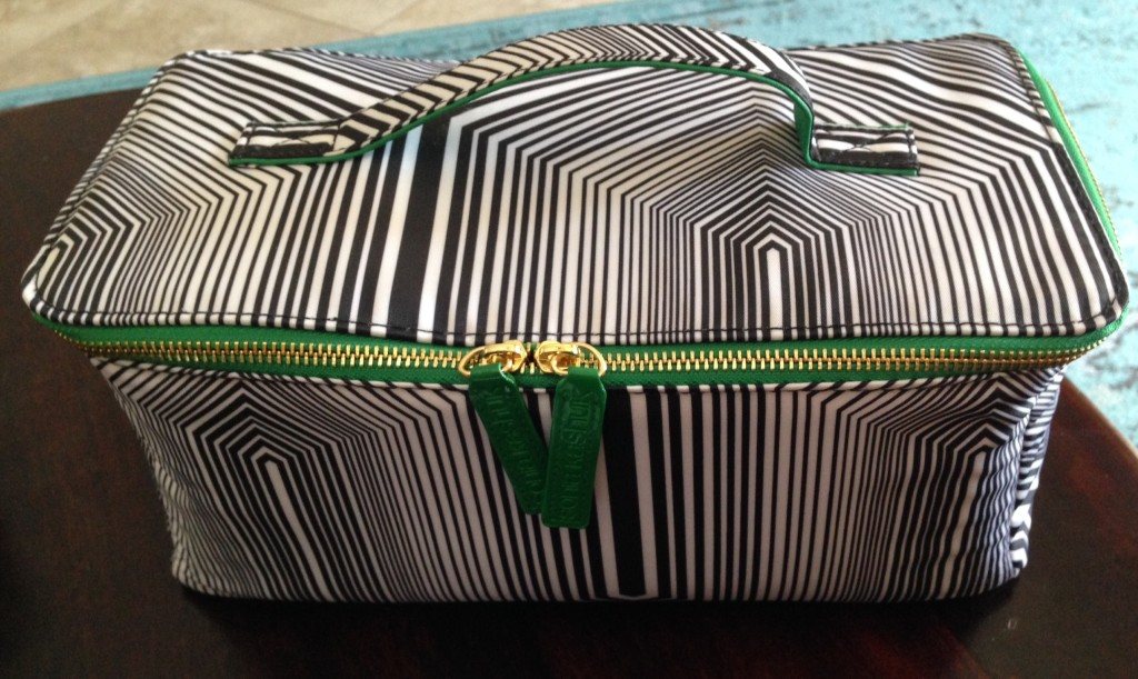 makeup bag finished