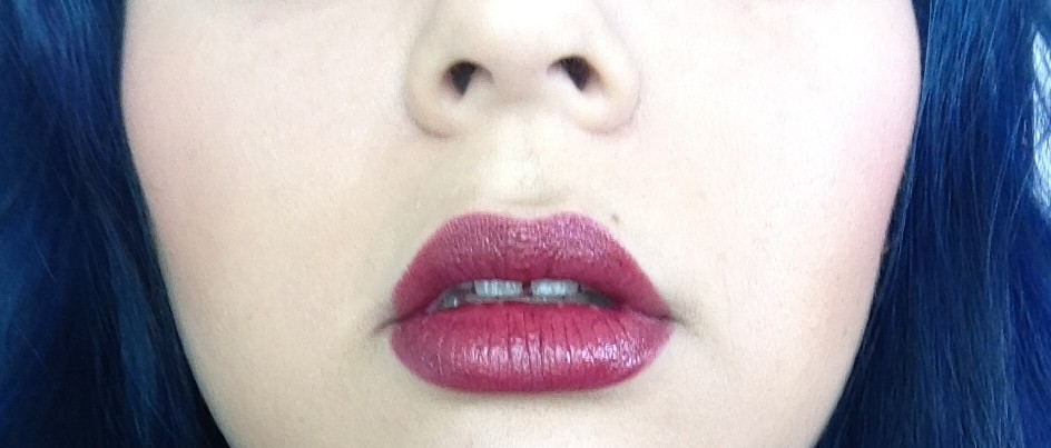maybelline deepest cherry lips