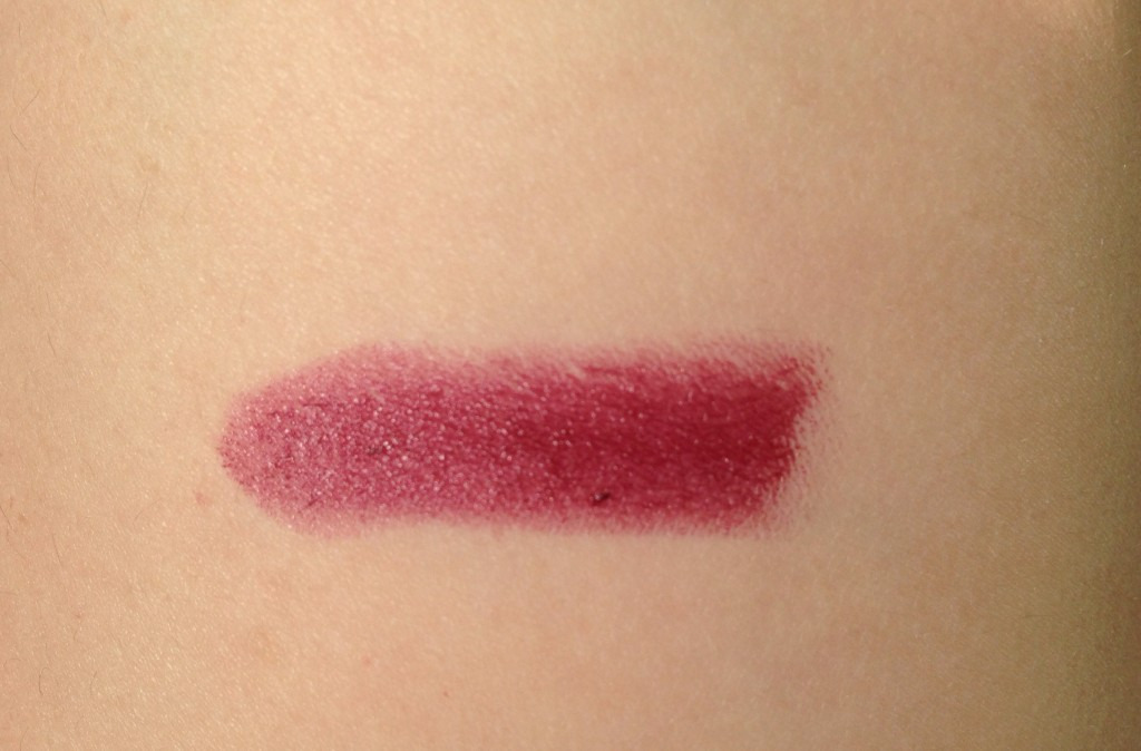 maybelline deepest cherry swatch