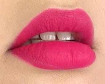 pink velvet lips