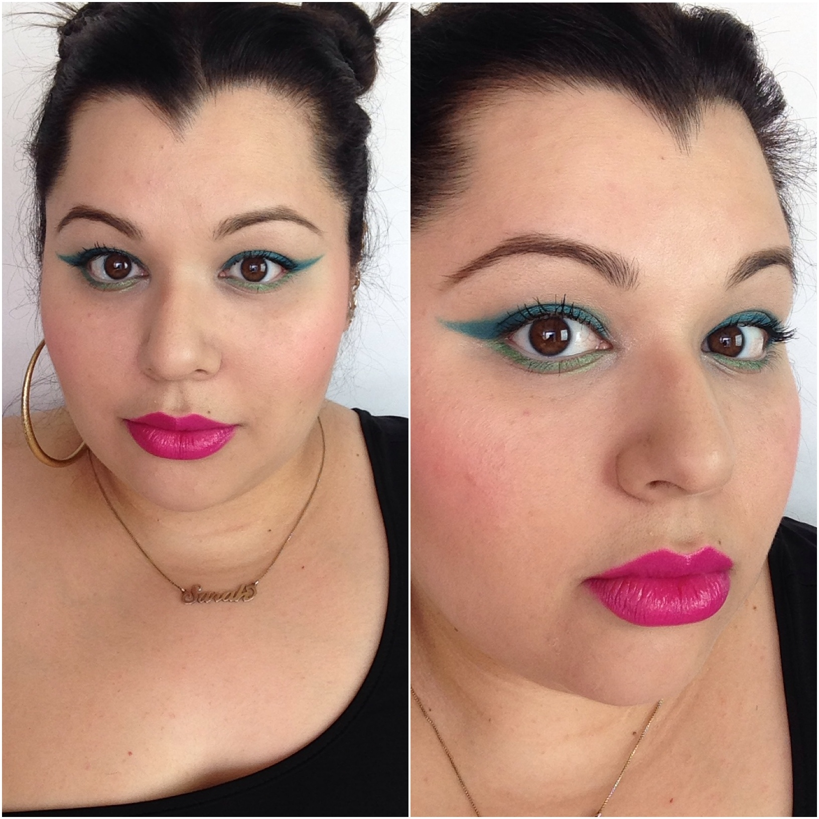 electric palette look 2