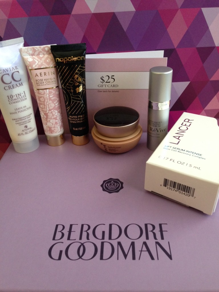 glossybox may 2014 bergdorf goodman